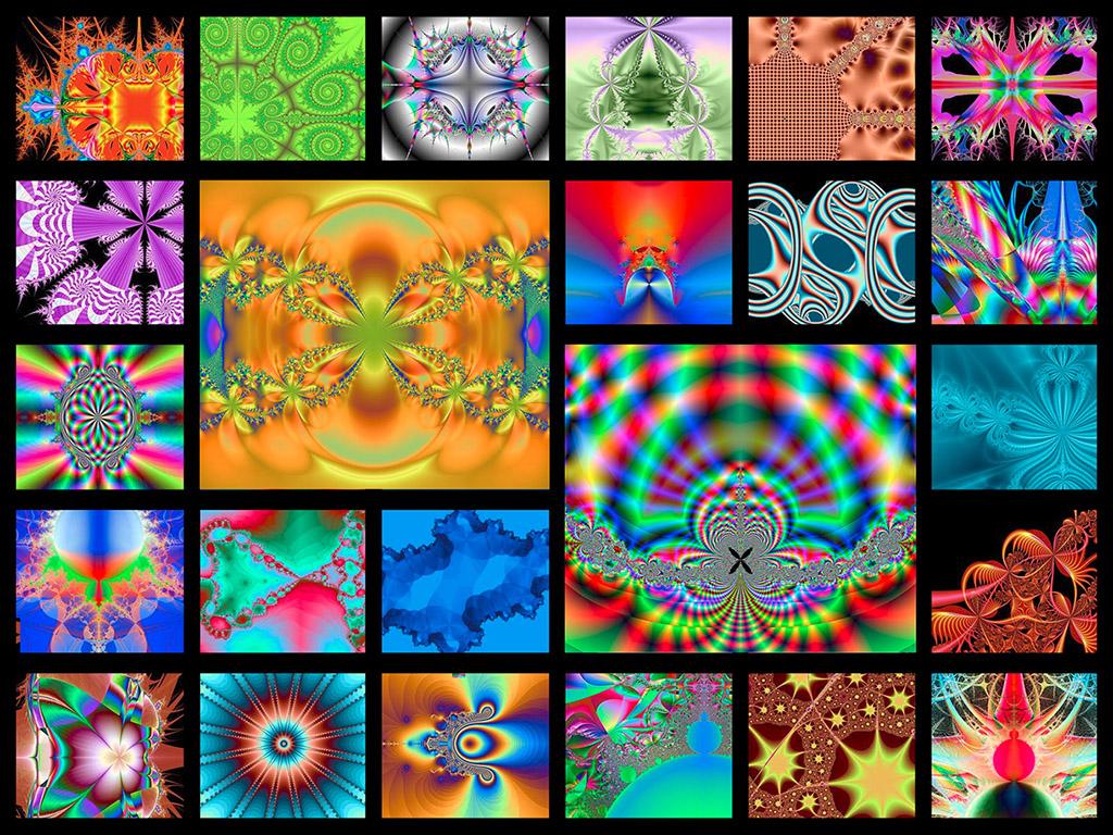 Fraktál mozaik