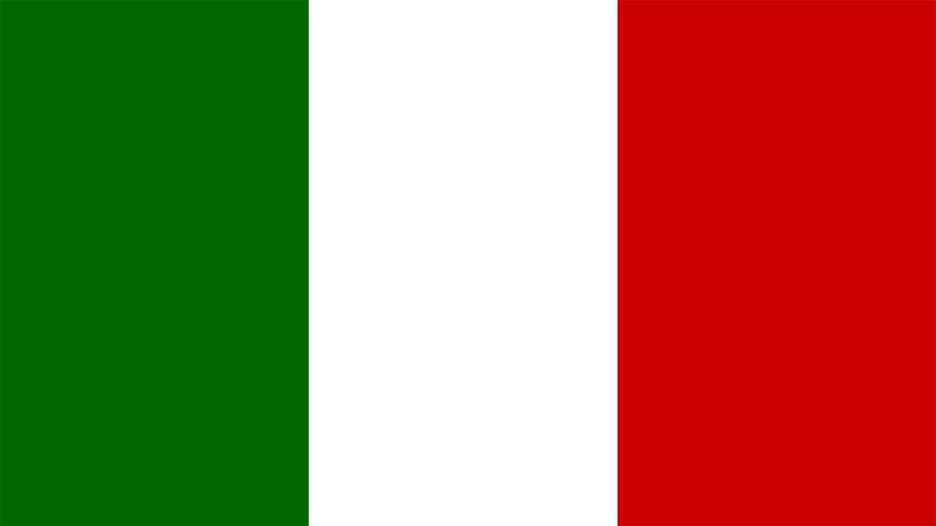 Flagge Italien Bild