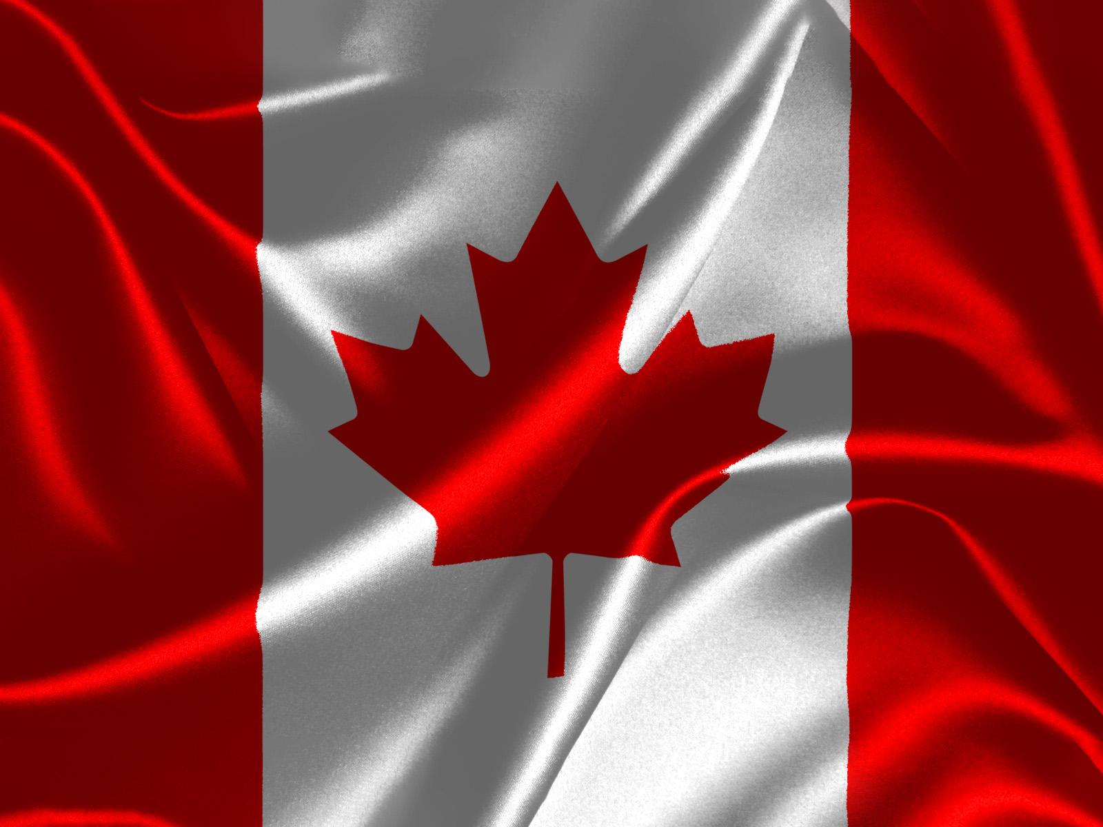 Sticker Wallpaper Kanadische Flagge 014 Hintergrundbild