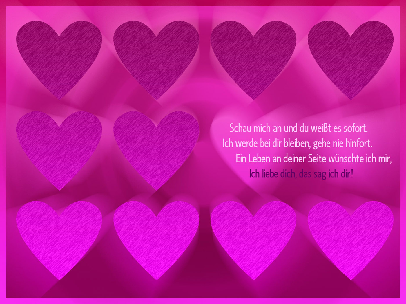 Ich Liebe Dich Liebessprüche Hintergrundbilder Kostenlos