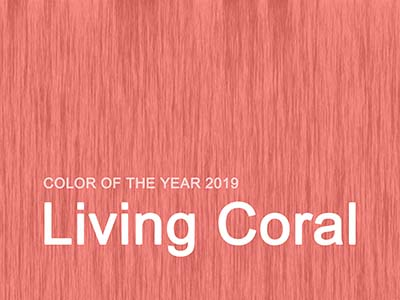 Die Farbe des Jahres 2019: Living Coral