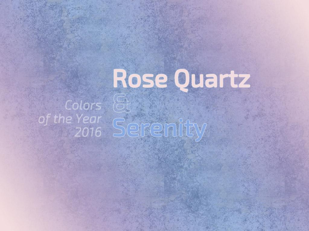 Az év színei 2016-ban