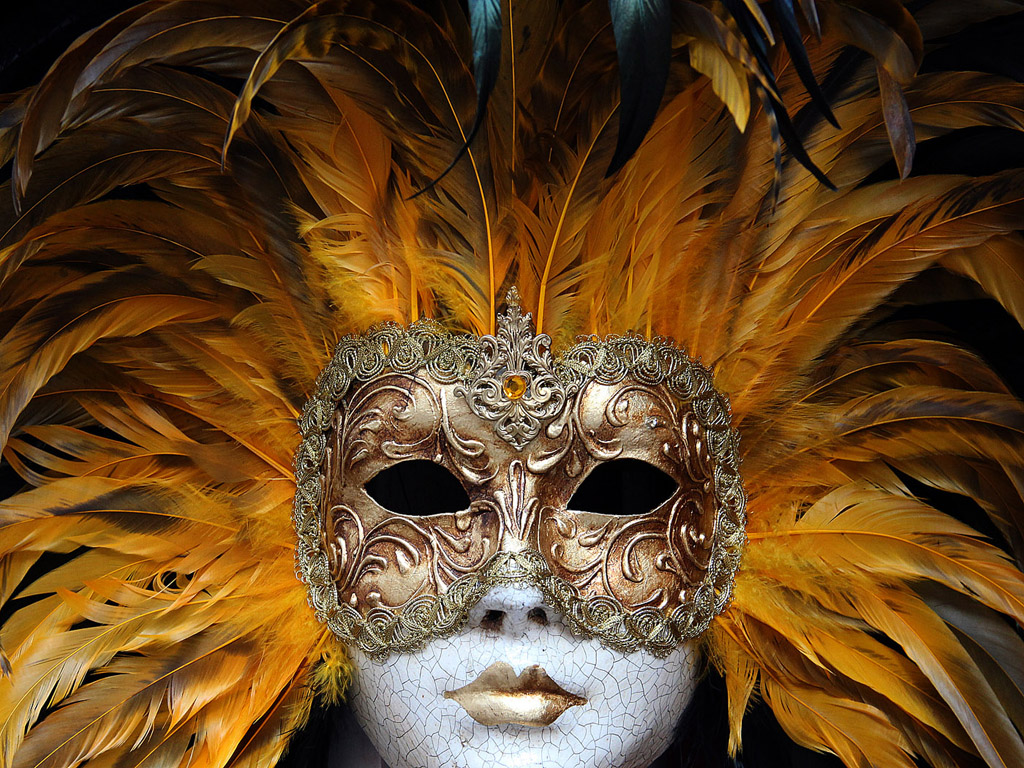 Karneval in Venedig #013 - kostenloses Hintergrundbild