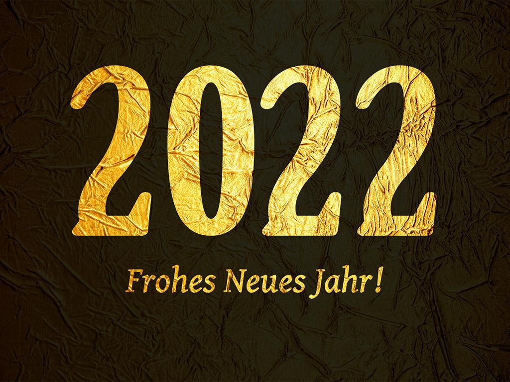 Neujahrsgruss für 2022