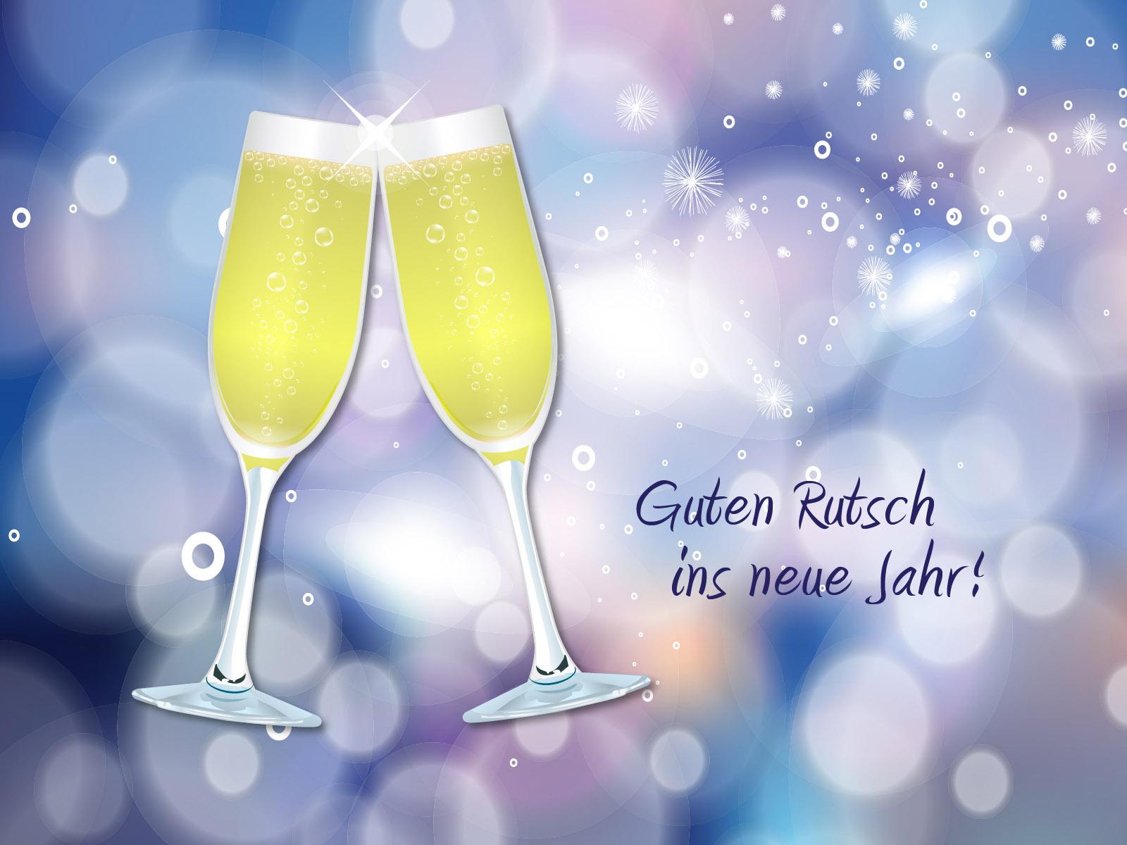 Guten Rutsch ins neue Jahr! - Kostenlose Neujahrsbilder ...