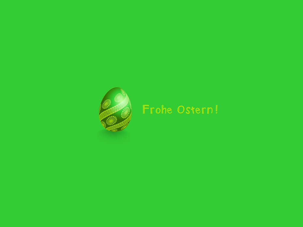 Frohe Ostern! - Osterei
