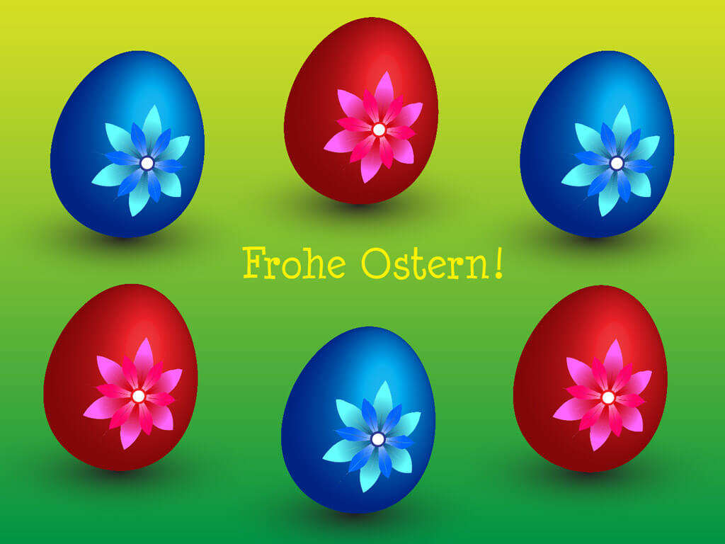 Ostereier frohe ostern ostern hintergr nde f r desktop - Ostern wallpaper ...