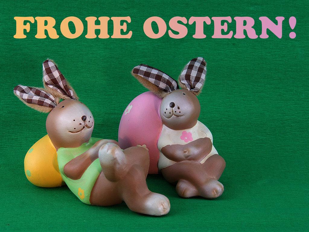 Osterhasen frohe ostern ostern hintergr nde f r desktop - Wallpaper ostern ...