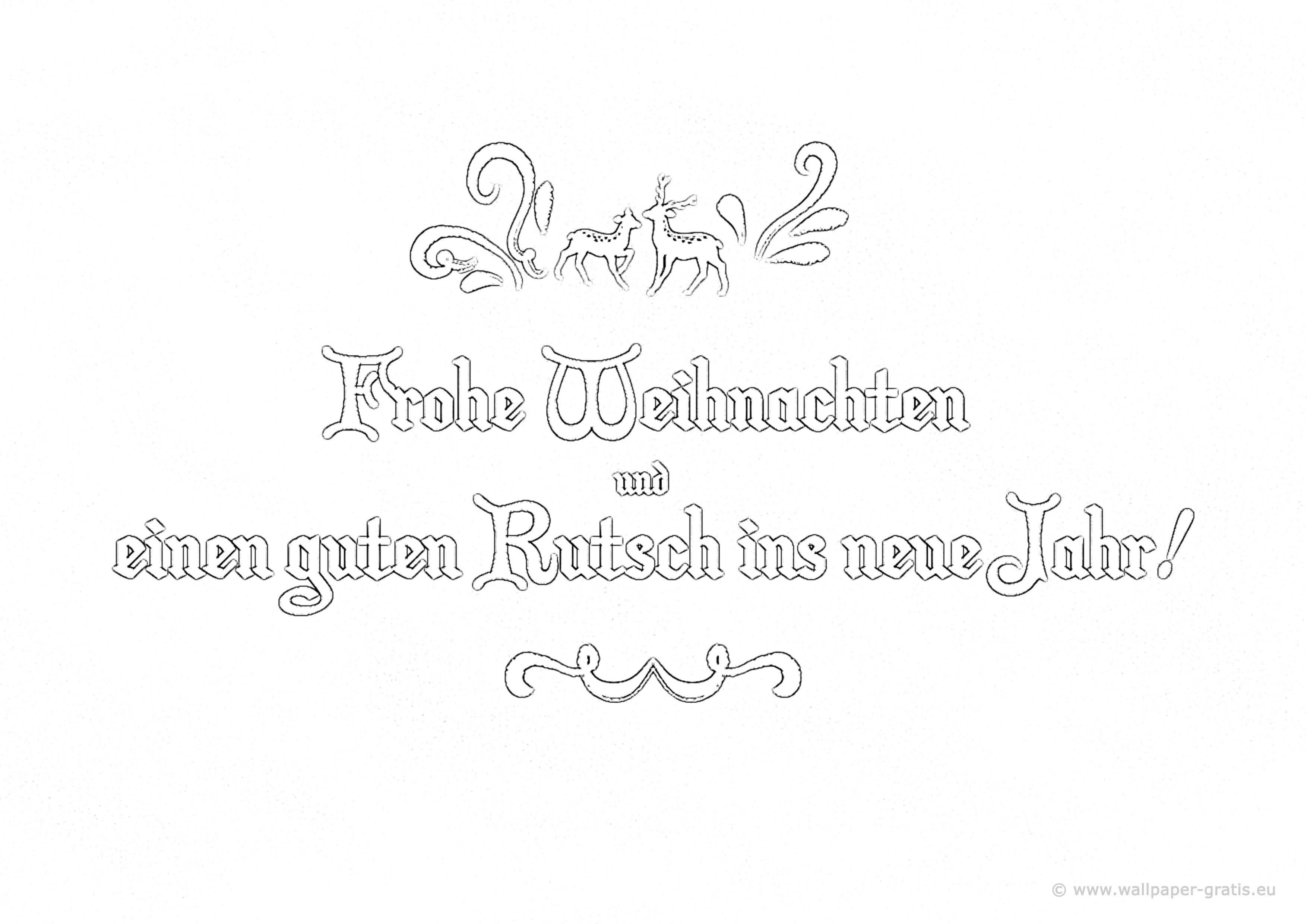 Weihnachten & Neujahr 005 - Hintergrundbild kostenlos