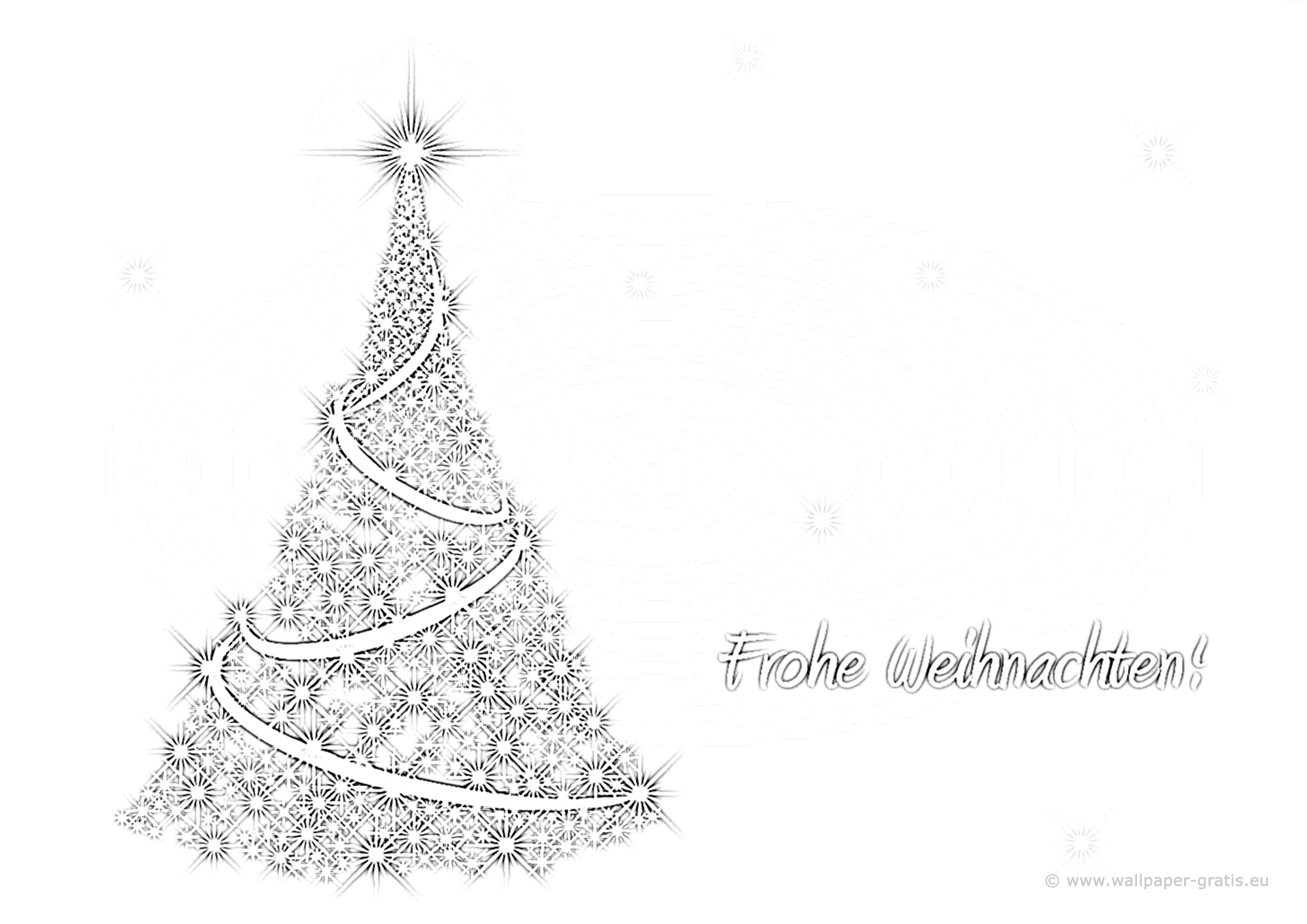Fantastisch Frohe Weihnachten Malvorlagen Fotos - Malvorlagen Von ...