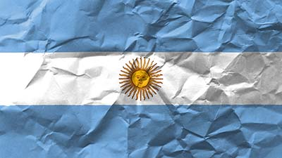 Flagge Argentiniens