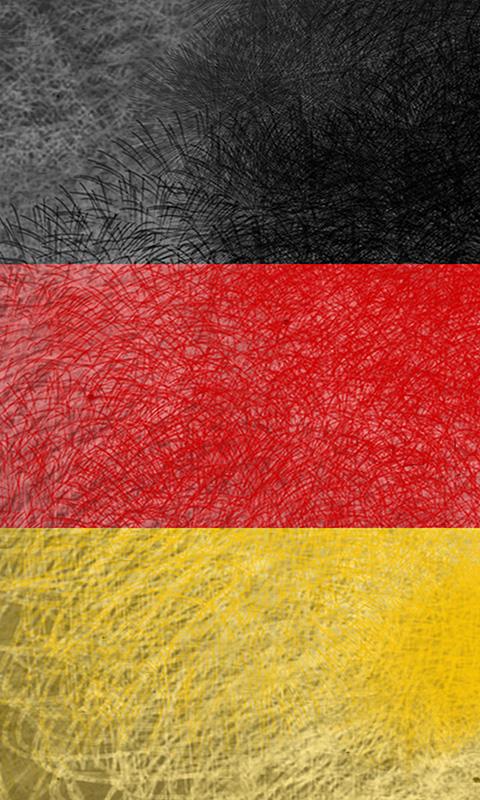 flagge deutschlands 012 kostenloses handy hintergrundbild. Black Bedroom Furniture Sets. Home Design Ideas
