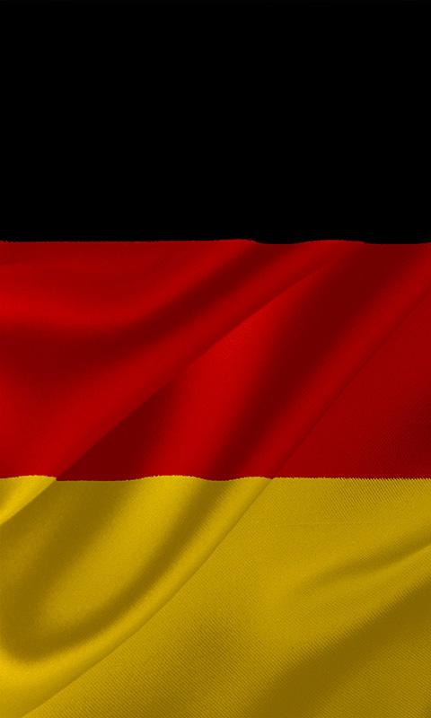 flagge deutschlands 015 kostenloses handy hintergrundbild. Black Bedroom Furniture Sets. Home Design Ideas