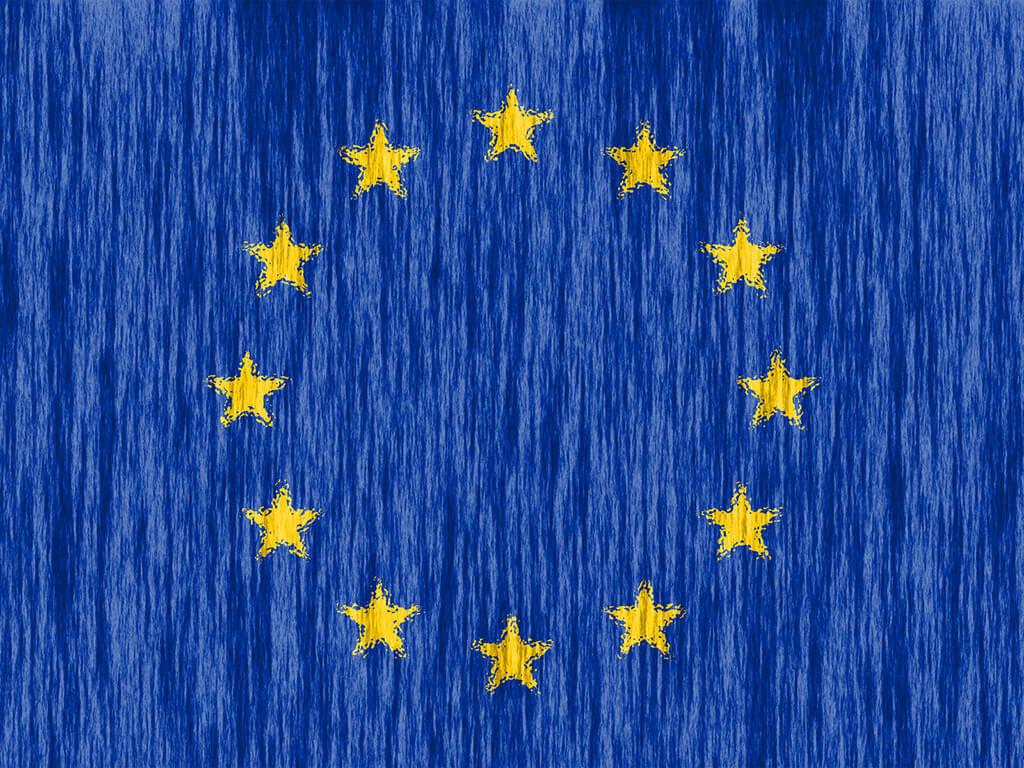 Europaflagge 12 Sterne