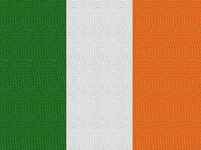 Flagge Irland #002