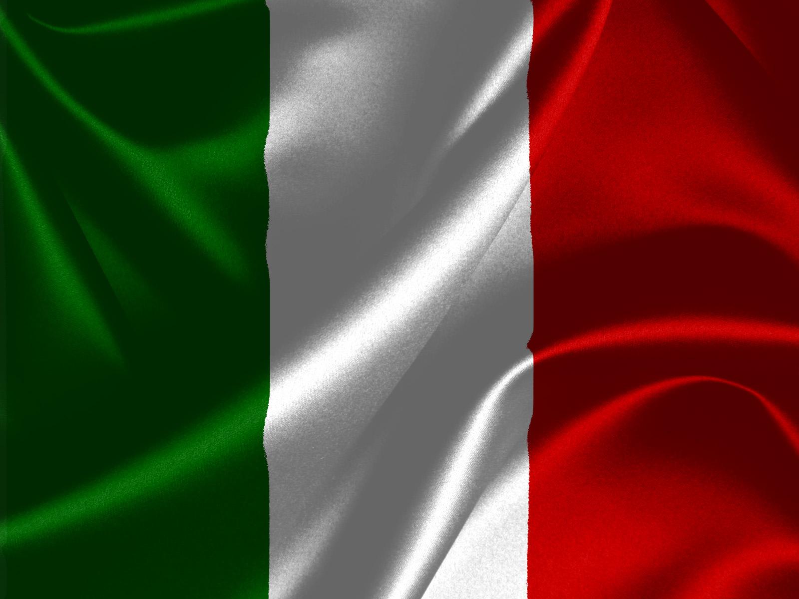 Italienische Flagge Bild