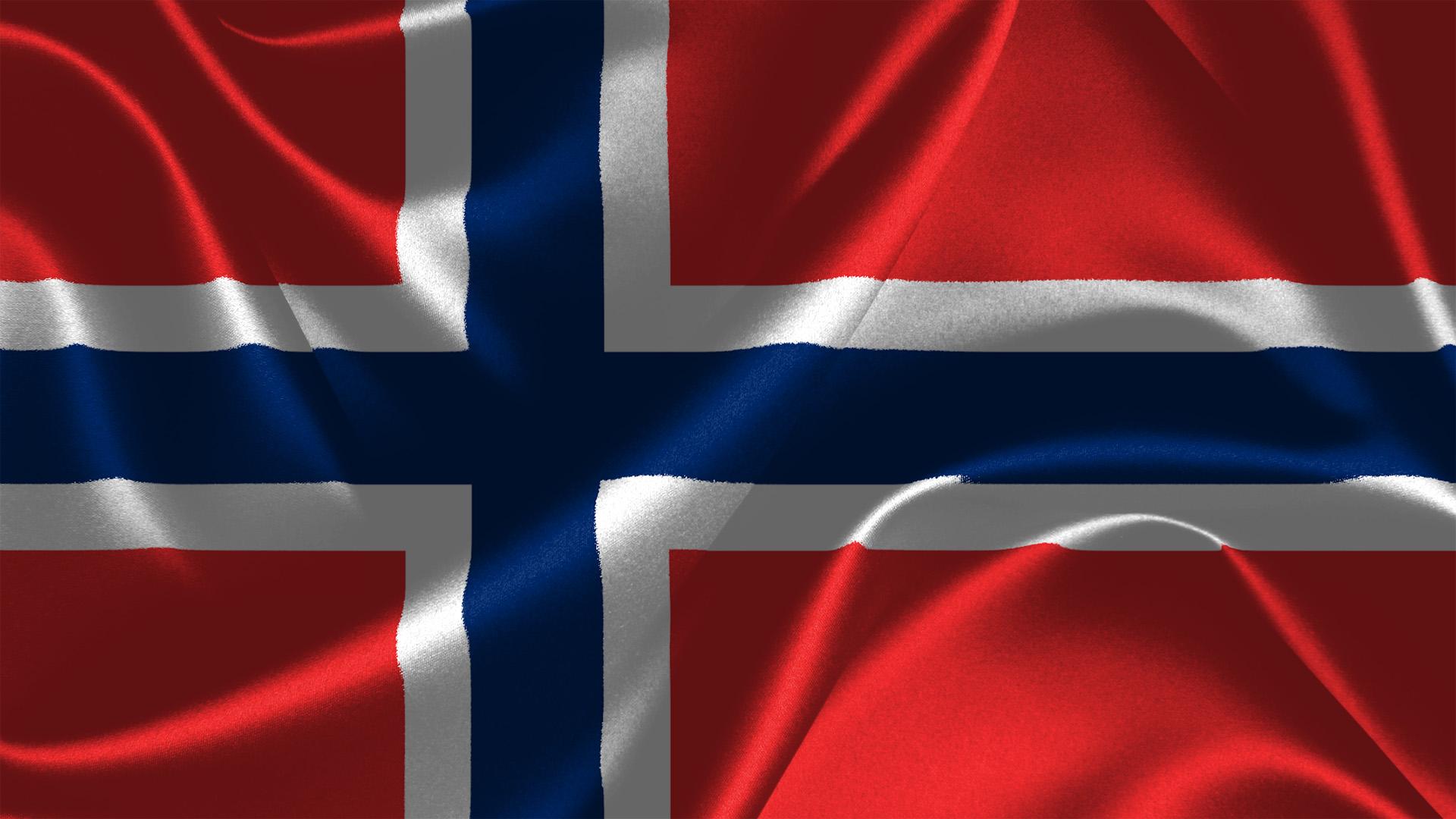 Norway Flagge Norwegens Hintergrundbilder
