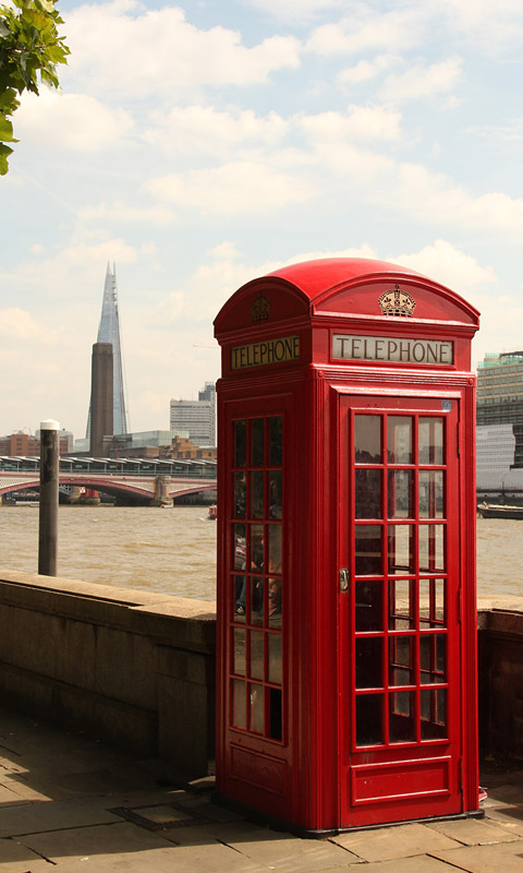 london - rote telefonzelle