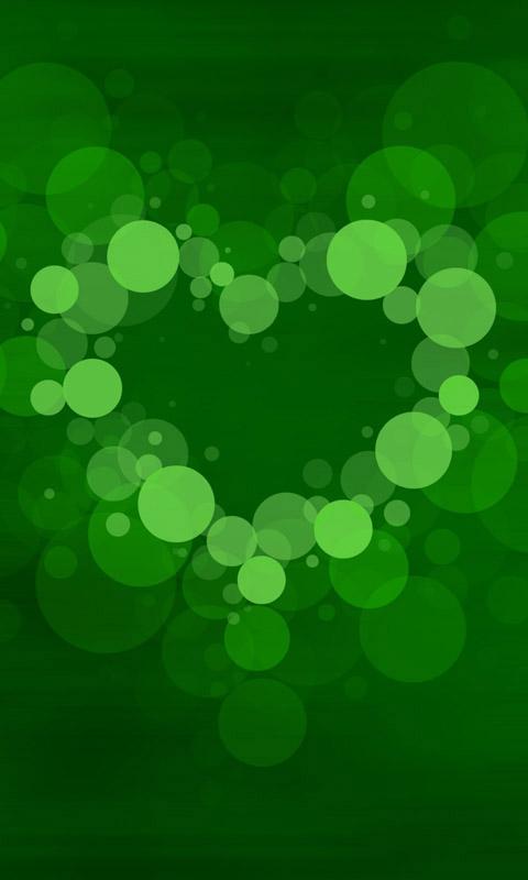 bubble heart  handyhintergrundbilder kostenlos