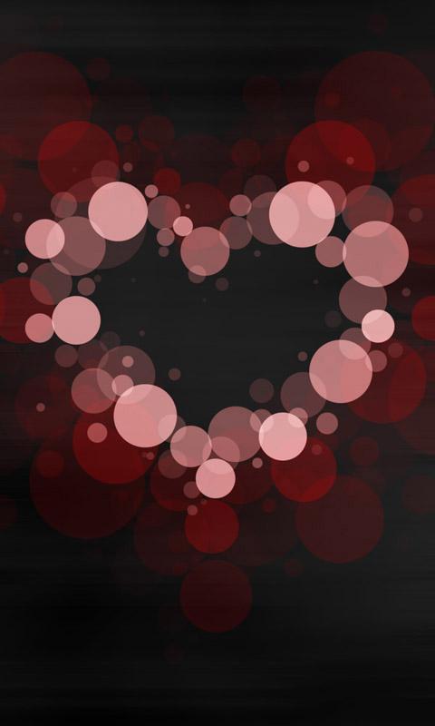Buborékos szív