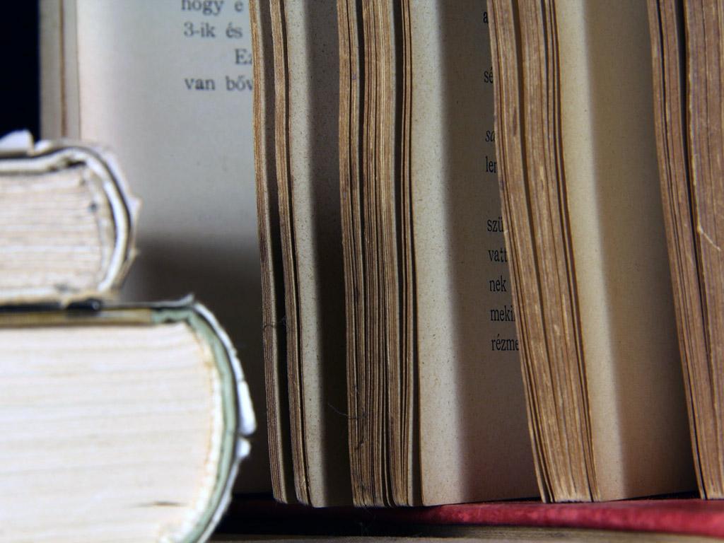 Régi könyvek háttérkép
