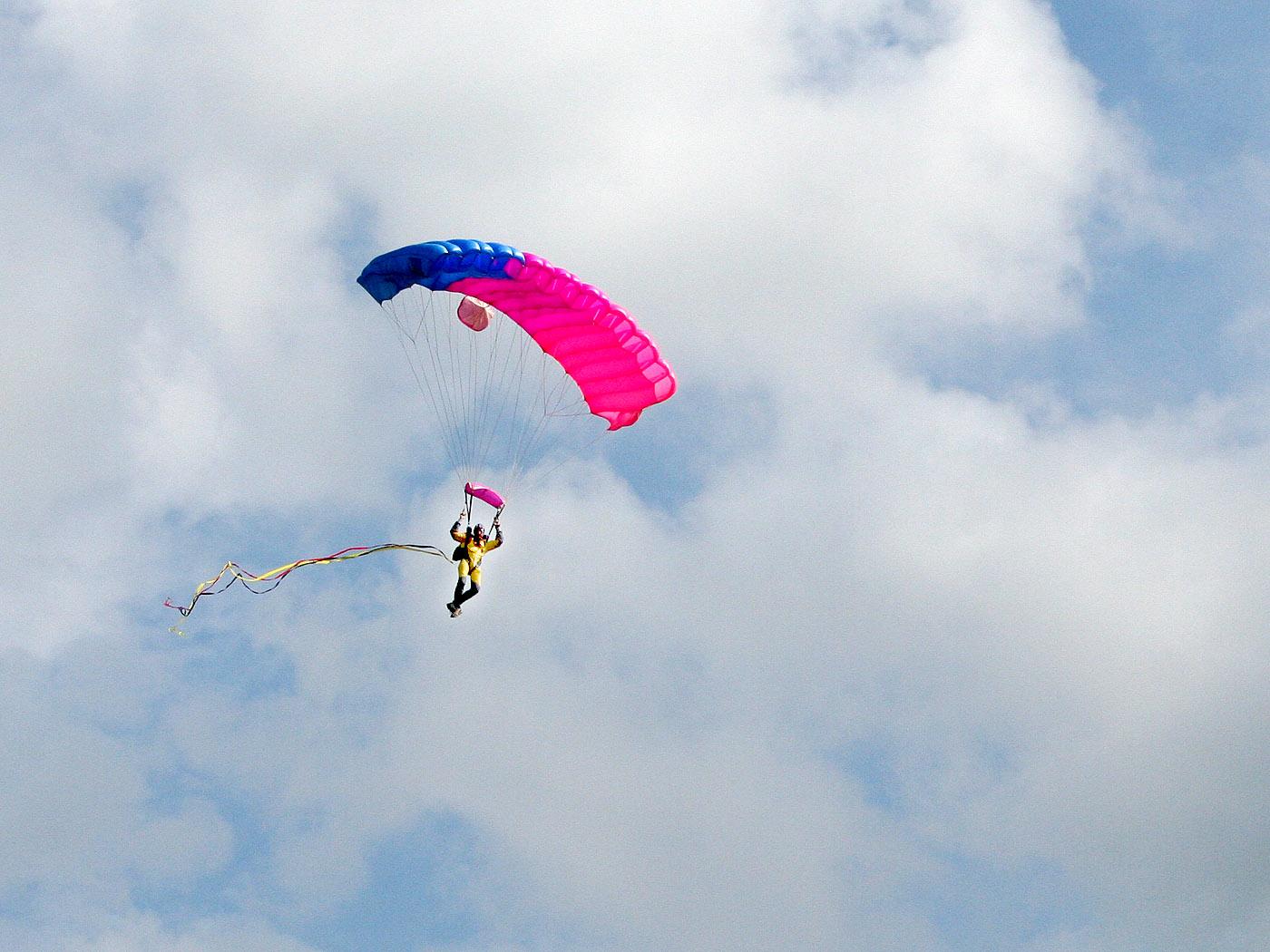 Fallschirmspringer Hintergrundbilder Kostenlos