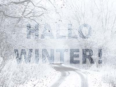 Hallo Winter!