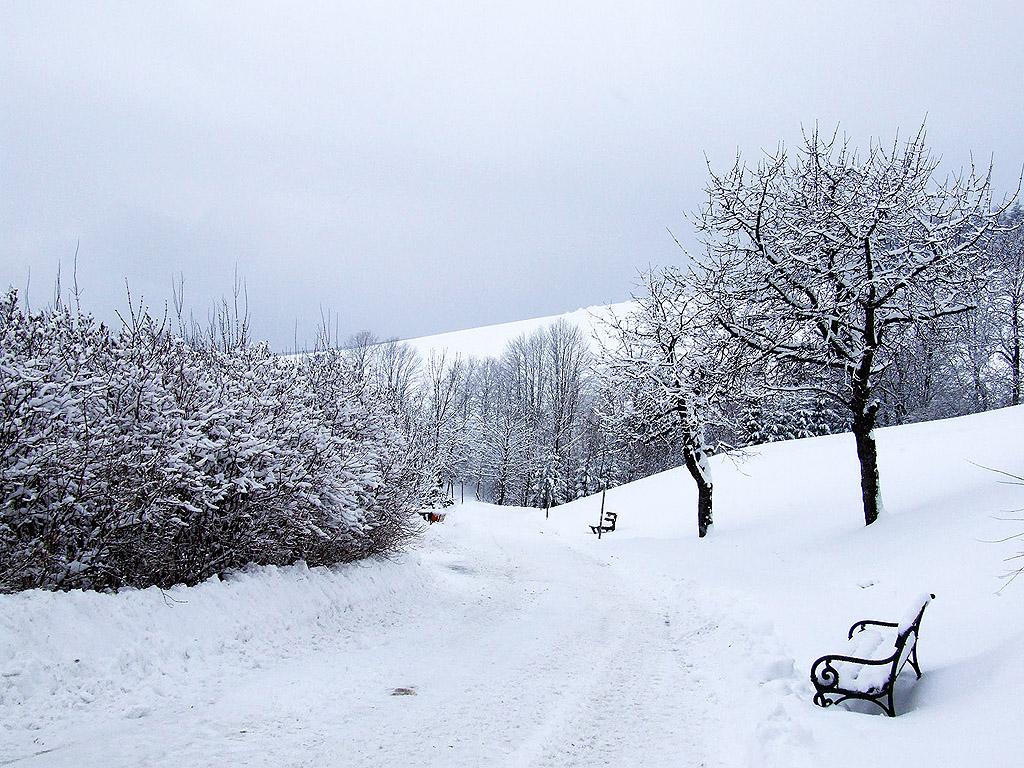 Tél, hó, hegyek