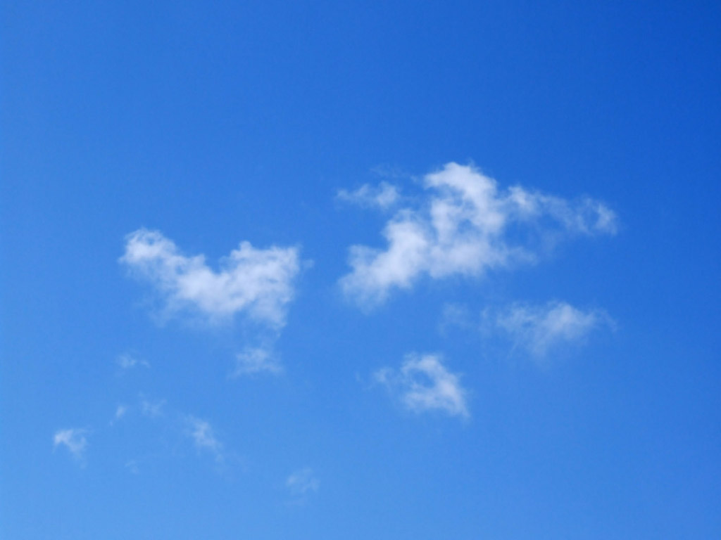 blue sky desktop wallpaper