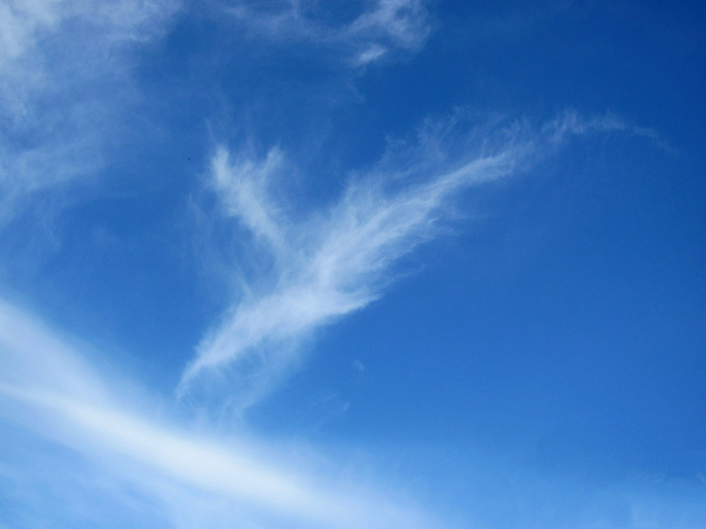 Blauer Himmel Wallpaper Wolke Blauer Himmel