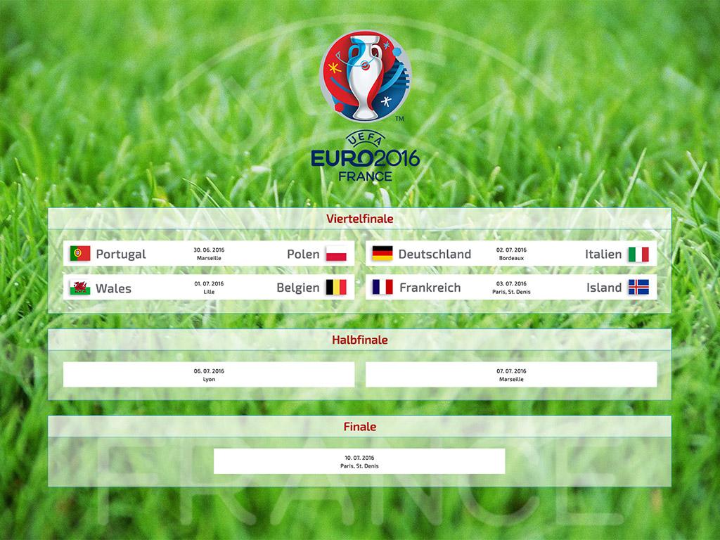 FuГџball Europameisterschaft Spielplan