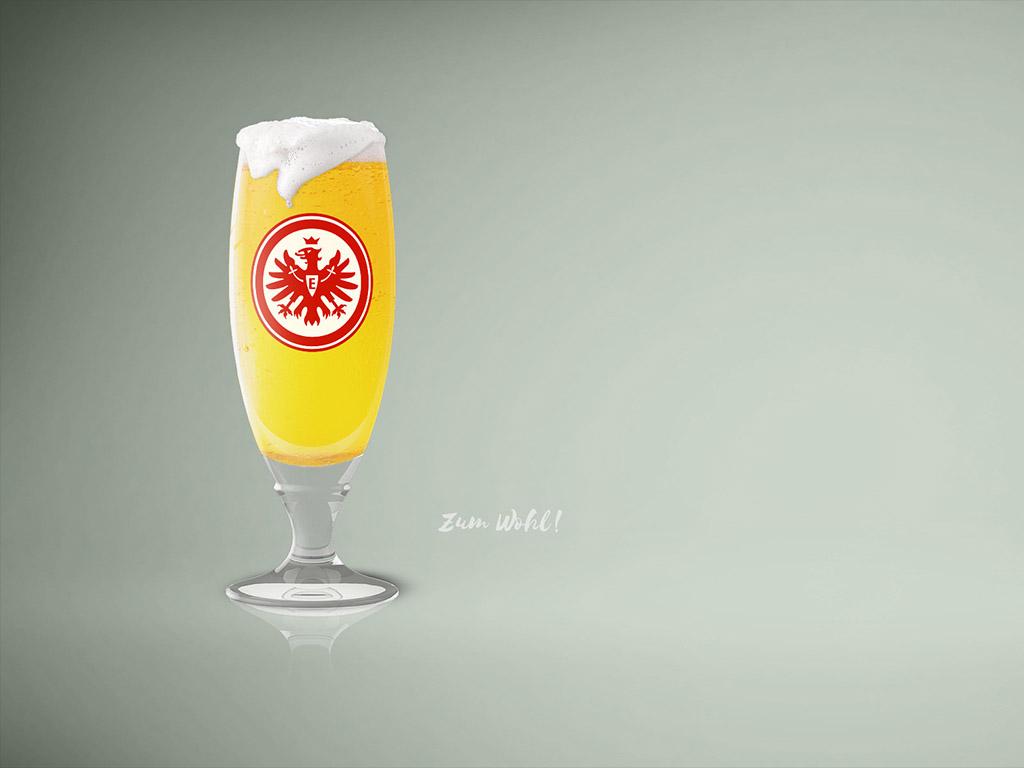 Ein Glas Bier - Fussball-Bundesliga