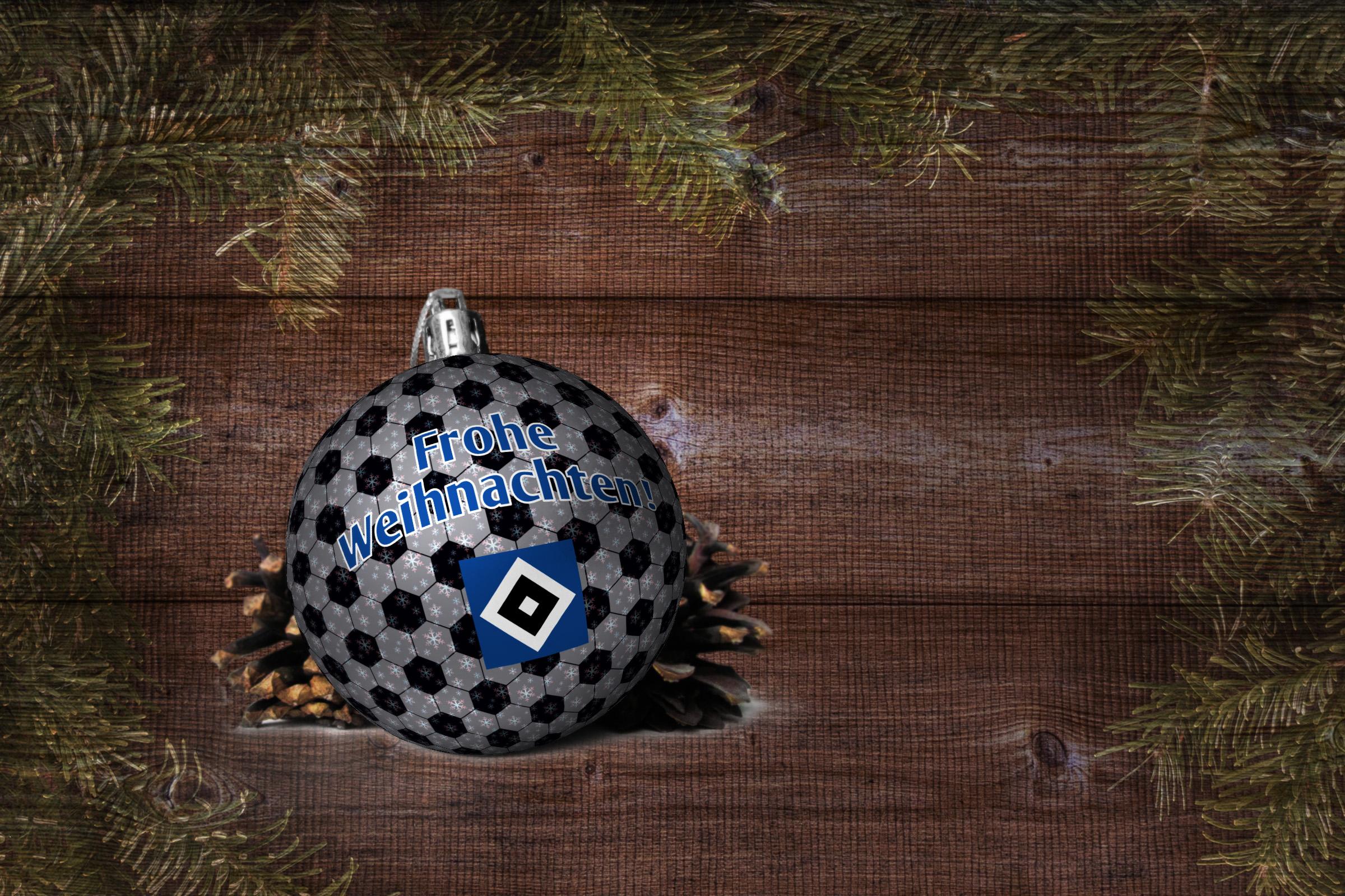 Hsv Weihnachtskugeln.Frohe Weihnachten Hsv