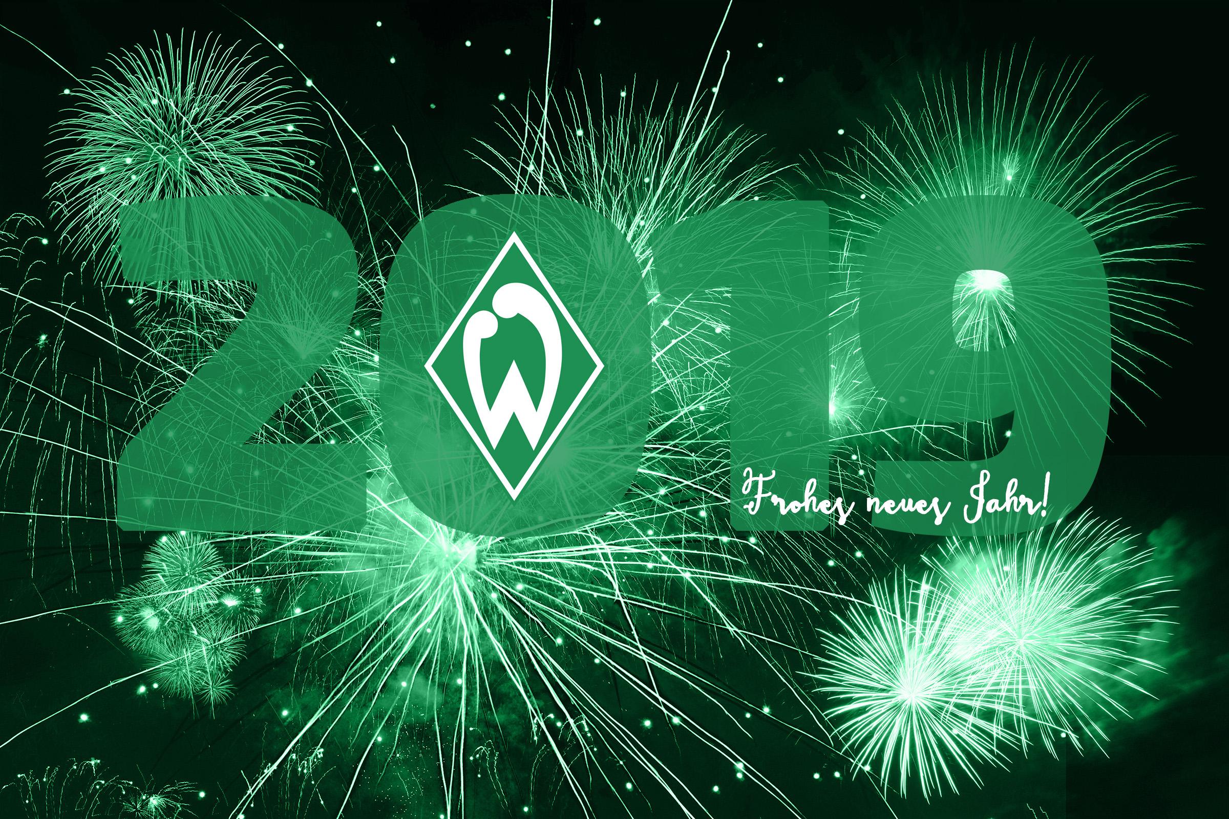 Frohe Weihnachten Werder Bremen.Frohes Neues Jahr 2019 Bundesliga Bilder