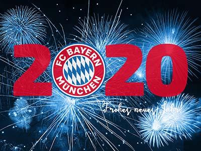 FC Bayern München: Frohes neues Jahr 2020!