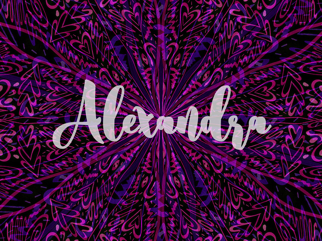 Beliebter Vorname / Mädchen - Alexandra