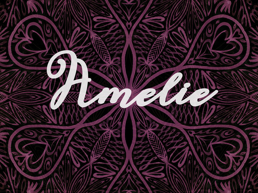 Beliebter Vorname / Mädchen - Amelie