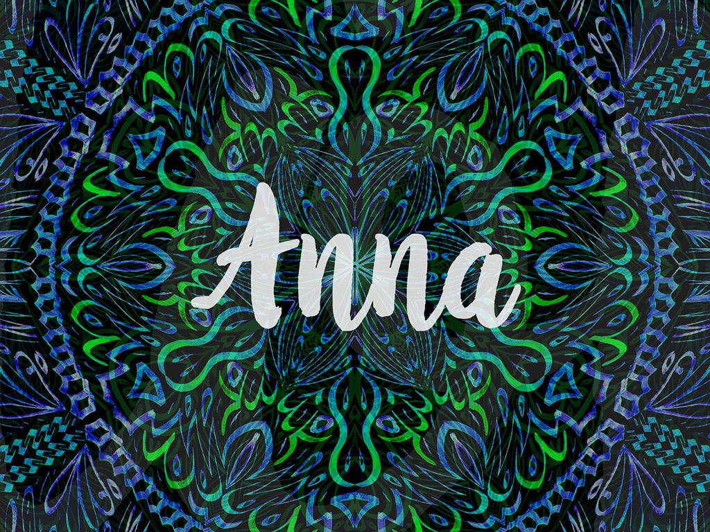 Beliebter Vorname / Mädchen - Anna