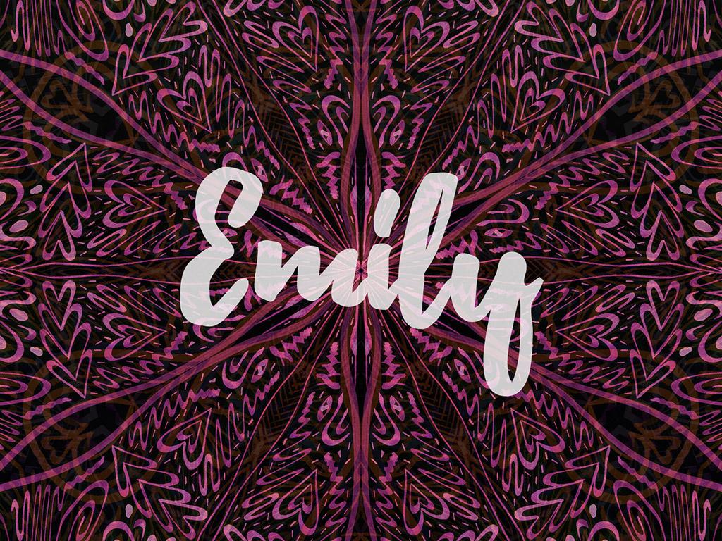 Beliebter Vorname / Mädchen - Emily