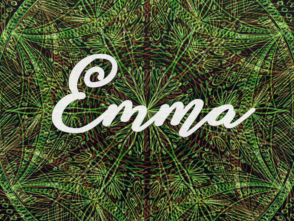 Beliebter Vorname / Mädchen - Emma