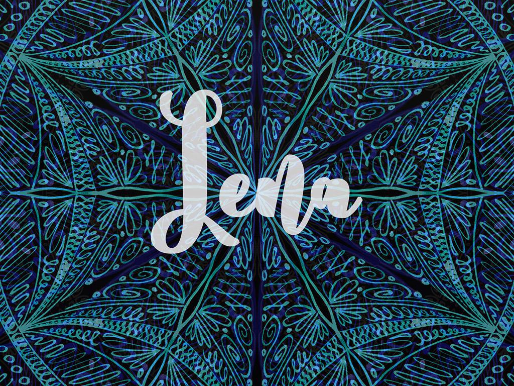 Beliebter Vorname / Mädchen - Lena