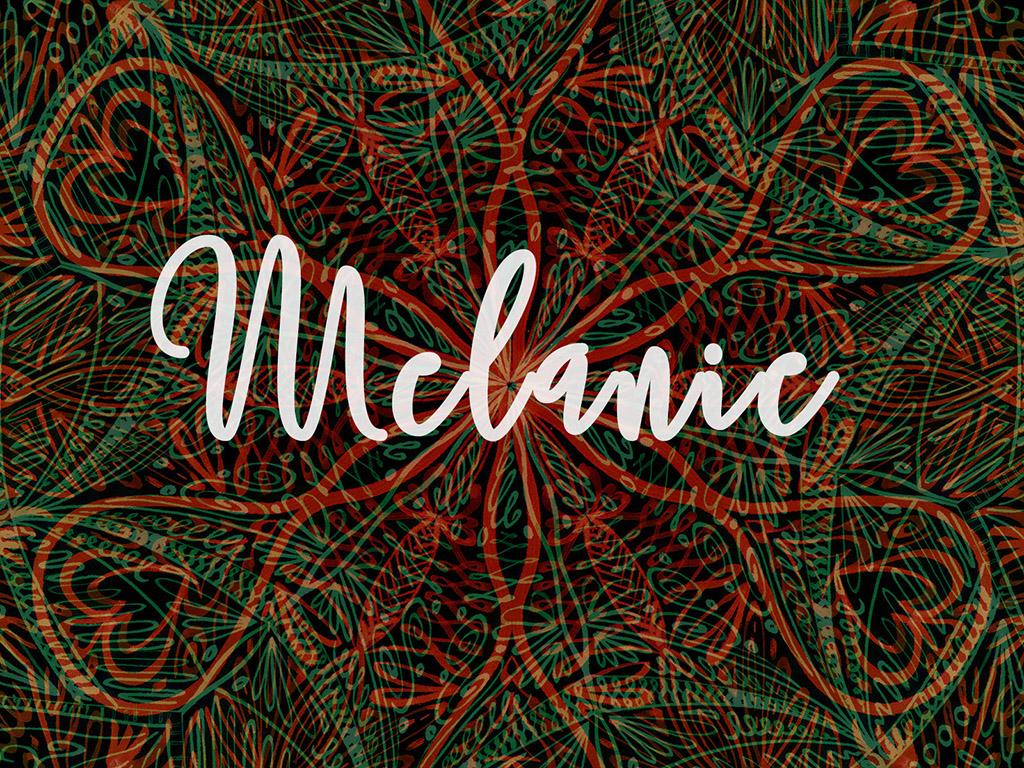 Beliebter Vorname / Mädchen - Melanie
