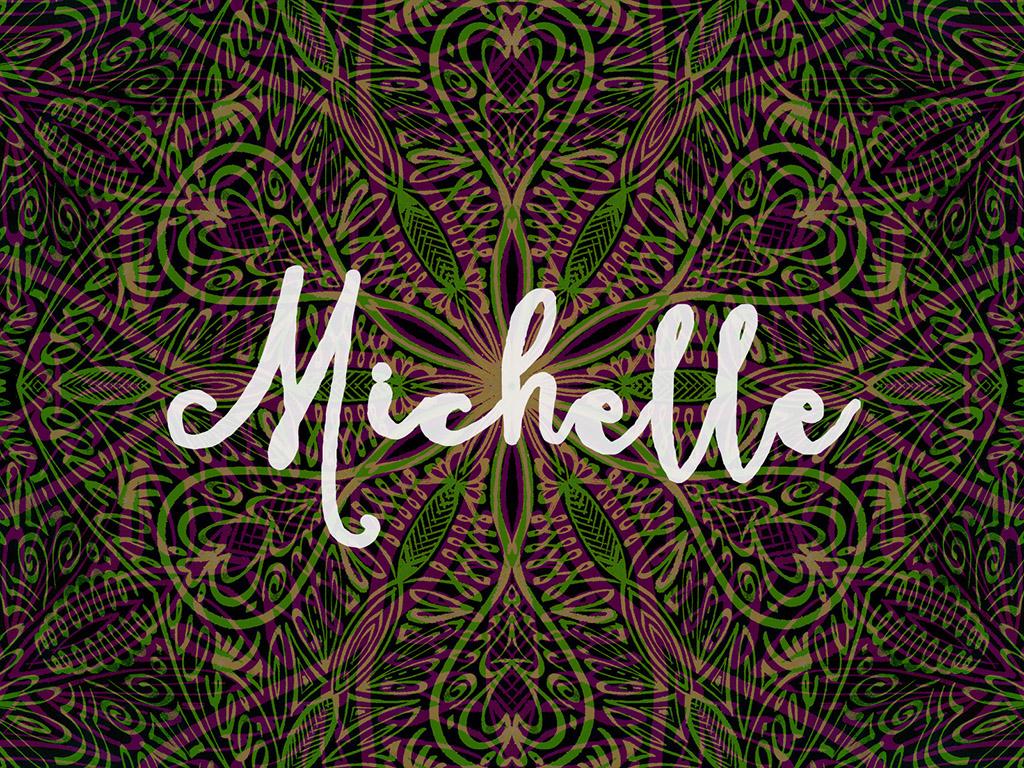Beliebter Vorname / Mädchen - Michelle