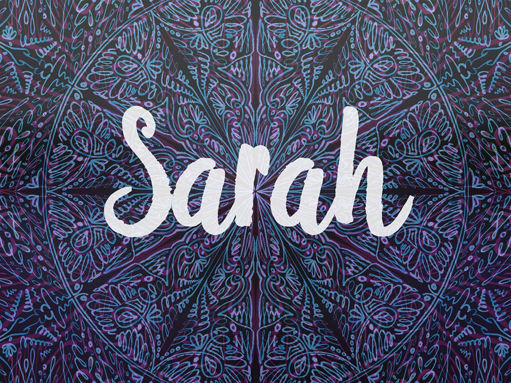 Beliebter Vorname / Mädchen - Sarah