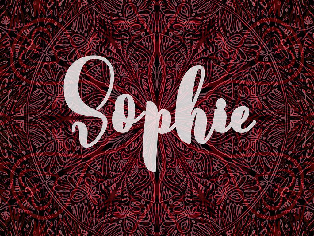 Beliebter Vorname / Mädchen - Sophie