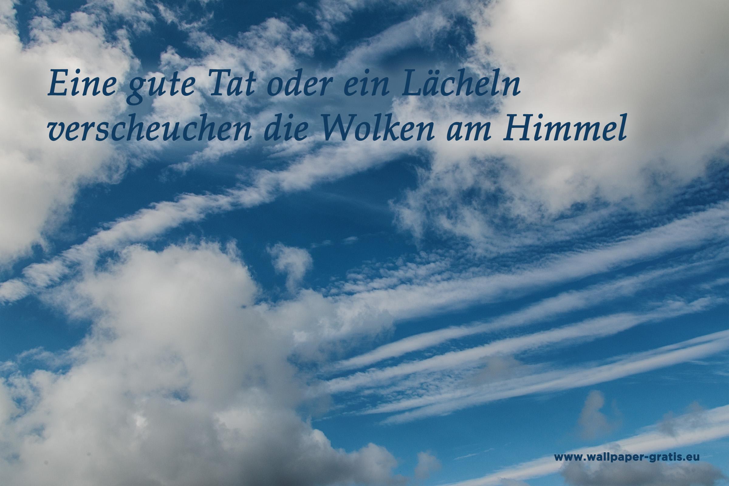 Zitate   Himmel & Wolken   kostenlose Bilder