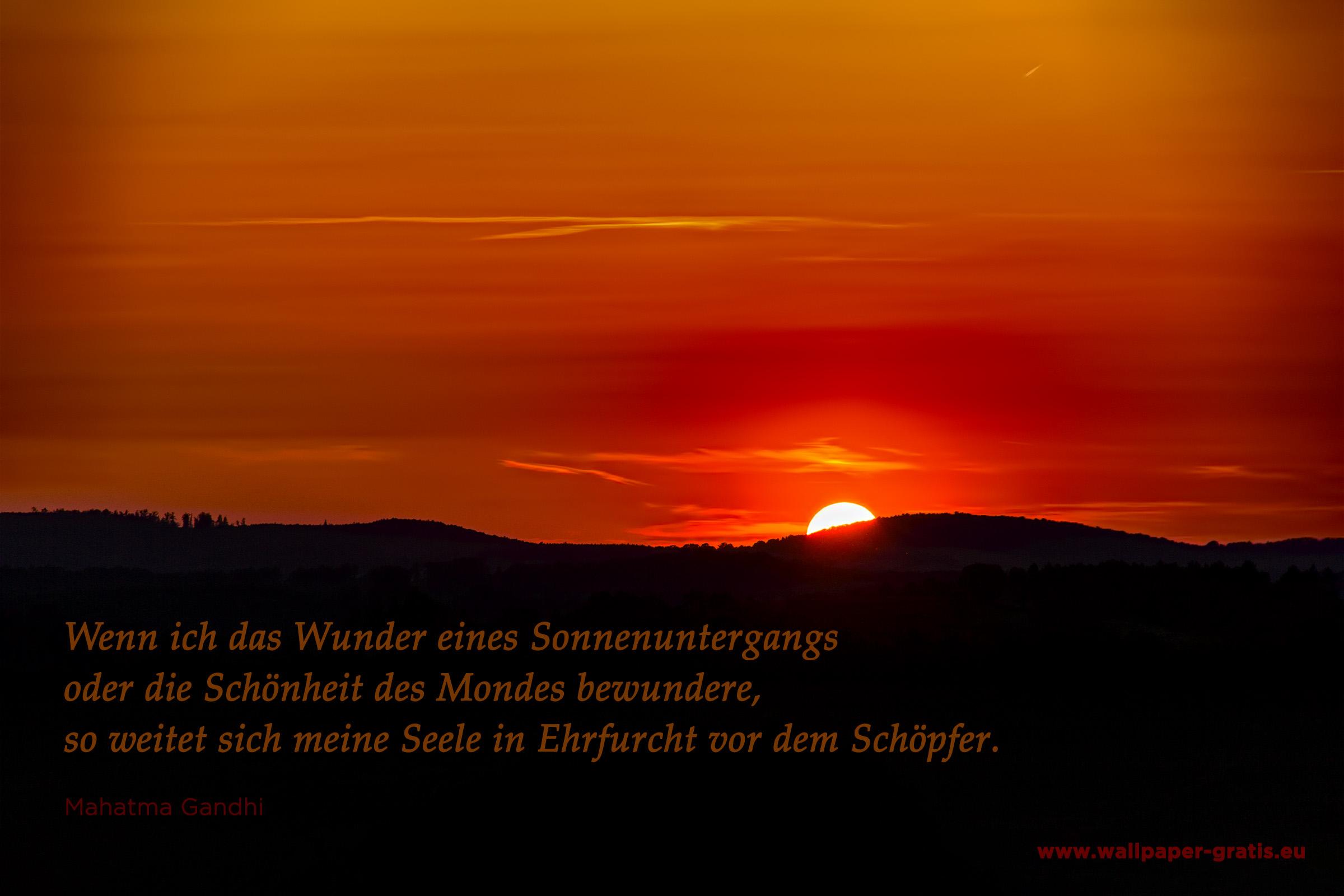 Zitate   Sonnenuntergang   kostenlose Bilder